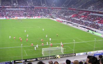 Ein Bild von einem Stadion